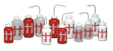 Mueller Sport Bottle - With Straw- Natural Colour