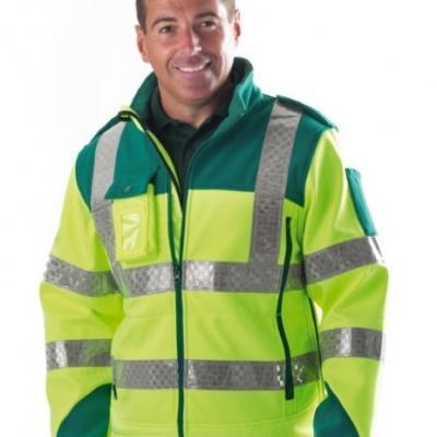 Paramedic First Responder Soft Shell Jacket
