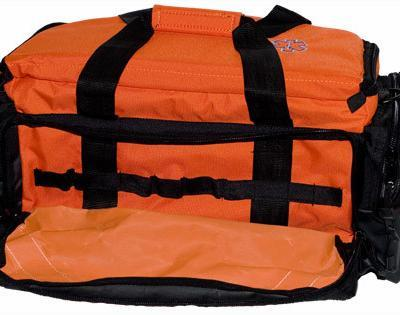 Large Orange Trauma Bag