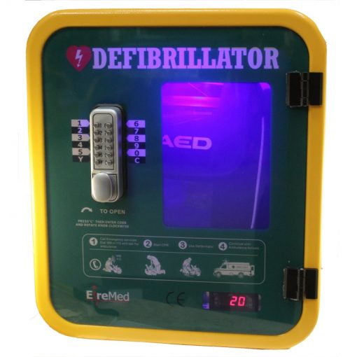 heated AED Cabinet