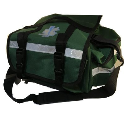 Green First Aid Bag