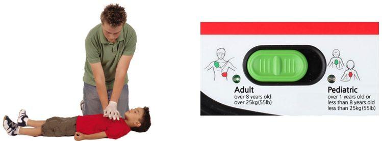 Child Defibrillator