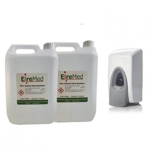 Hand Sanitizer dispenser package