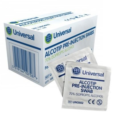 Alcohol Preinjection Swabs